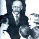 Janusz Korczak mit Kindern aus dem Warschauer Ghetto